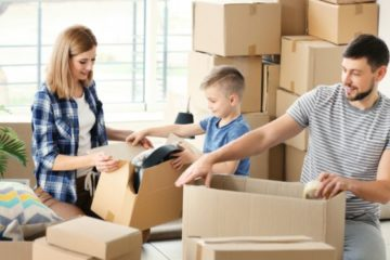 déménager avec enfants